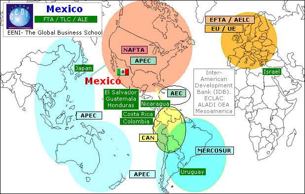"""Resultado de imagen de mexico trade agreements"""""""