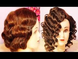 no heat curls waves retro flapper