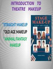 intro to makeup pptx introduction to