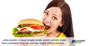 whey protein weight loss without