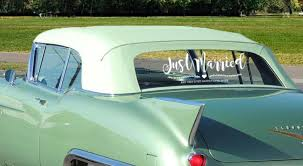 Just Married Car Sign Vine Vinyl Decal Etsy