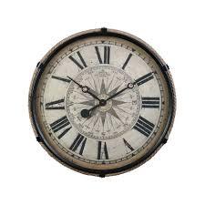 compass clock large black pendulux