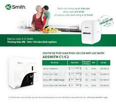 Review máy lọc nước Ao Smith C2 để bàn