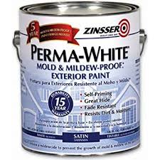 Kilz Exterior Siding Fence And Barn Paint White 1 Gallon Spray Paints Amazon Com
