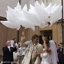 Night Sky Lanterns® Show at the Royal Wedding of Prince Lorenzo De ...