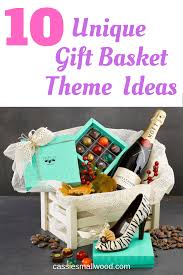 clever gift basket theme ideas cie