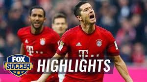 Lewandowski gives Bayern Munich 1-0 lead vs. Schalke | 2015-16 Bundesliga  Highlights - YouTube