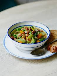 jools wholesome veg and bean soup