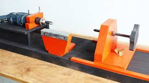 diy wood lathe making can you build