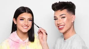 doing charli d amelio s makeup you