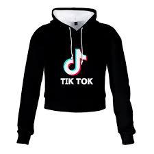 2020 TIK Tok Me Contro Te Hoodie High Waist Sweater Exposed ...