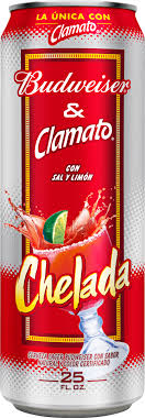 chelada budweiser beer 25 fl oz can