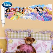 Disney Princess Wall Stickers 3d Fairy Princess Scroll Picture Children S Room Wall Decoration Wall Sticker Mural Stickers Aliexpress