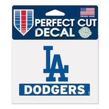 L A Dodgers Car Decals Decal Sets Dodgers Car Decal Shop Cbssports Com