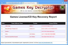 games key decryptor free tool to
