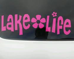 Lake Life Decal Lake Life Lake Camper Windows