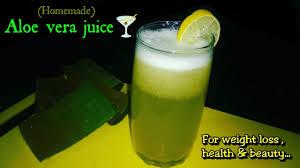 aloe vera ginger lemon juice