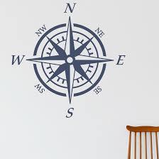 Breakwater Bay Nautical Compass Wall Decal Reviews Wayfair