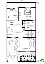 floor plan for 25 x 60 feet plot 2