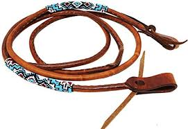 rolled leather reins trainers4me