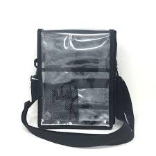 mini set bag with clear flap guru