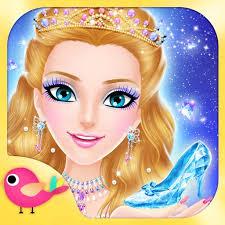 princess salon cinderella makeup