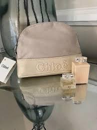 chloe perfume makeup bag with perfume