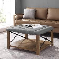 edison tufted upholstered fabric