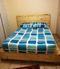 easy diy wooden pallets bed frame ideas