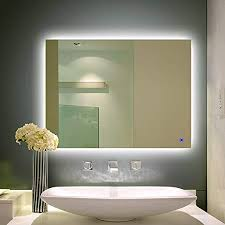 alice dimmable led backlit mirror anti