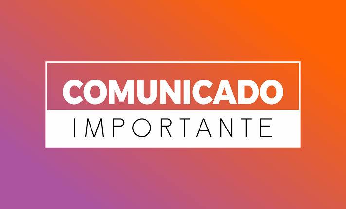 """Resultado de imagem para COMUNICADO"""""""