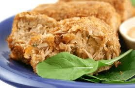 Tuna Patties (low fat, low carb ...