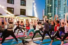 kimpton solamar hotel hosts yoga