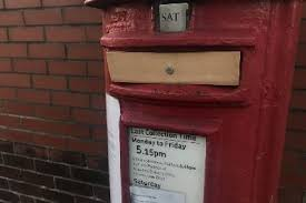 wakefield post box closed after dog