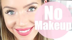 how to look pretty with no makeup