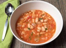 white bean soup w garlic basil high