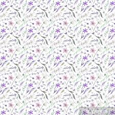 pattern with lavender in purple color