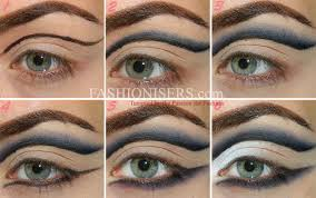 how to apply arabic eye makeup cat