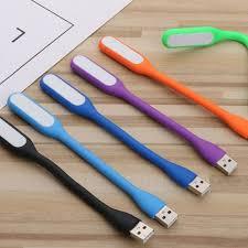Đèn Led USB Uốn Dẻo, nhiều mầu, đèn ngủ led, đèn làm việc cho laptop