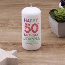 unusual 50th birthday gift ideas
