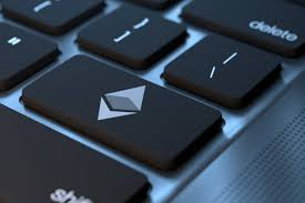 Laptop Ethereum keyboard key free image download