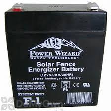 Bird Barrier 12v Battery For Solar Charger Bs Cs25