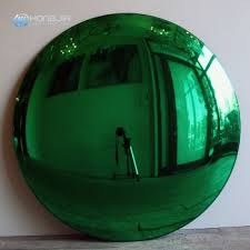 glass large concave convex mirror