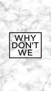 why don t we logo on marble wallpaper