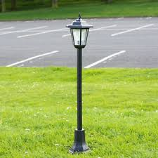 outdoor garden lantern light lamp post