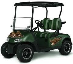 Deer Skull Camo Golf Cart Atv Graphics Hunting Club Car Ezgo Etsy