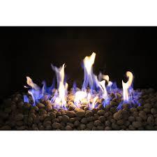 exotic fire glass fire pit lava rocks
