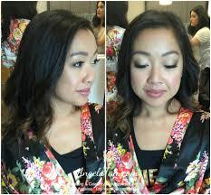 korean bridesmaid makeup and hair
