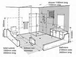 handicap accessible shower dimensions