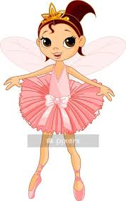 Cute Fairy Ballerina Wall Decal Pixers We Live To Change